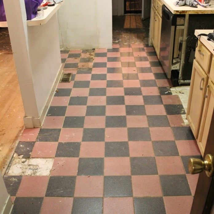 Original Kitchen Floor