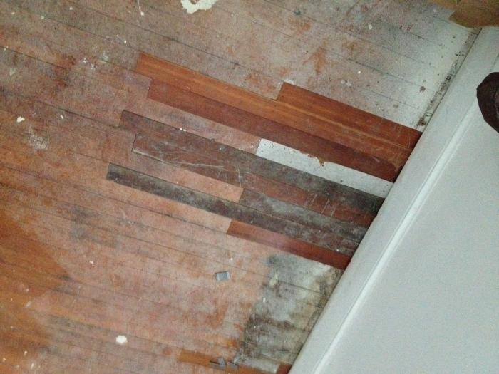 Repaired Floors