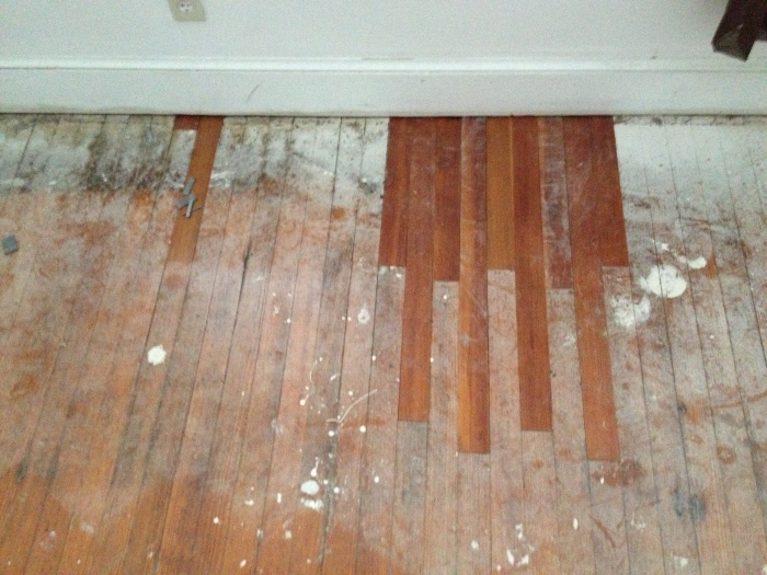 Bedroom Floor Repair