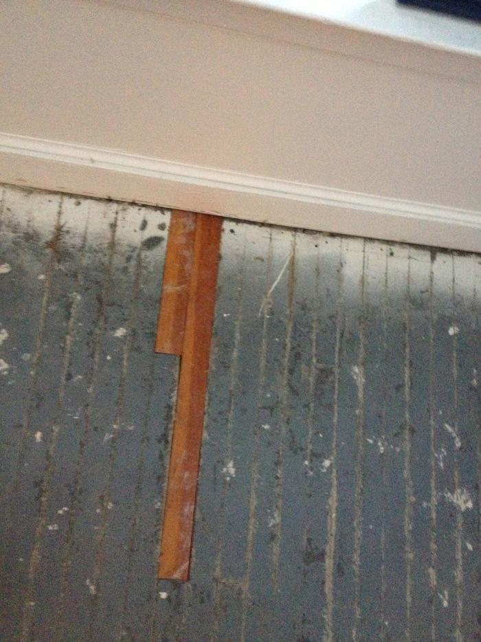 Repaired Rear Floors