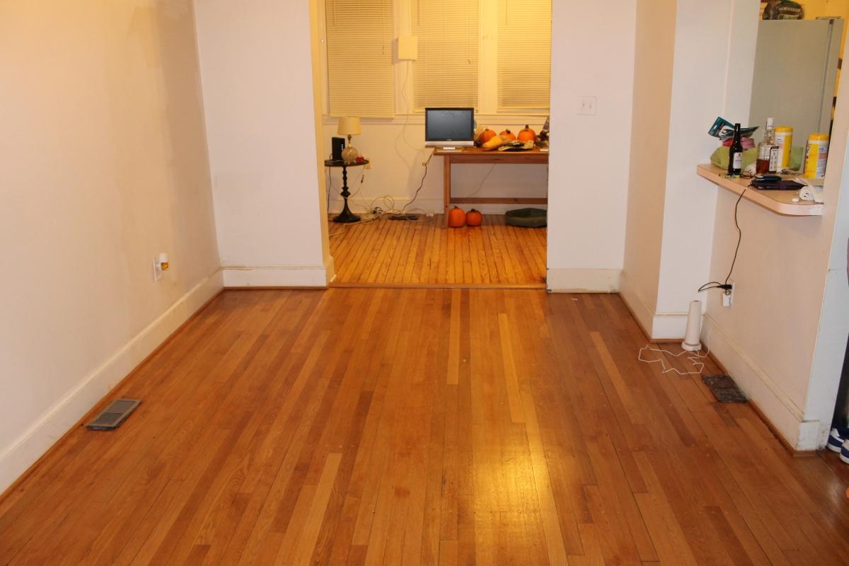 New dining room floor