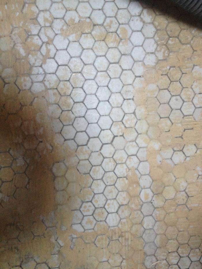 Original hexagon tile