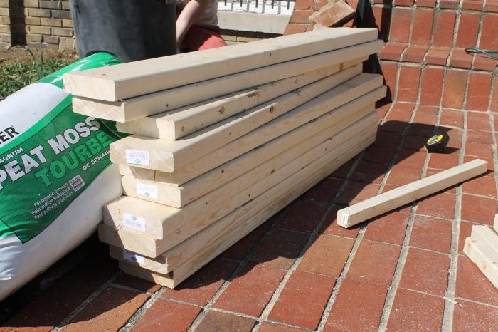 4 x 6 cut wood