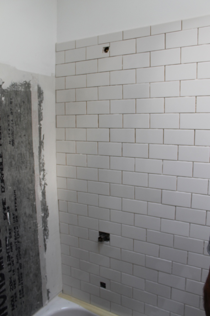 First wall is done