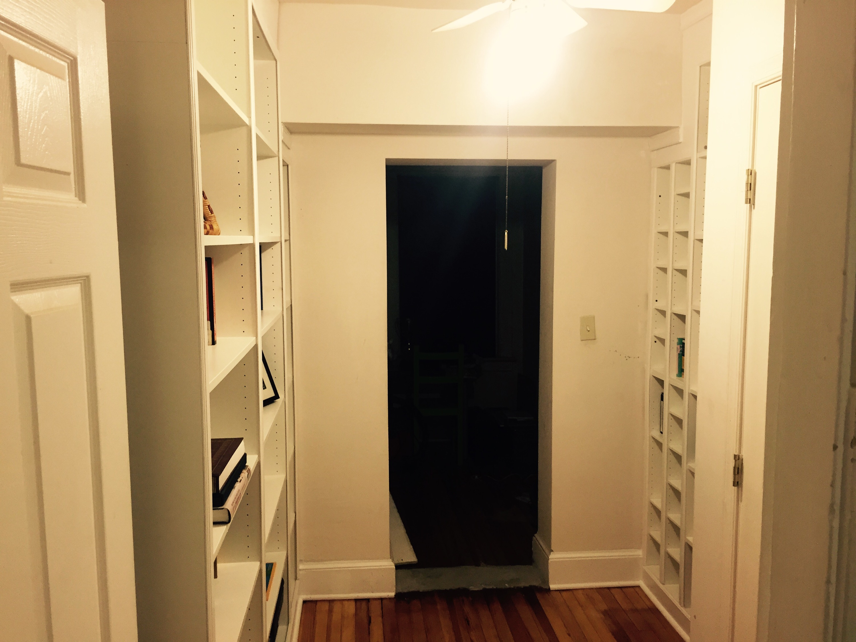 Welcome to the Library. (Ikea-hacked built-in bookshelves!) | Two ...